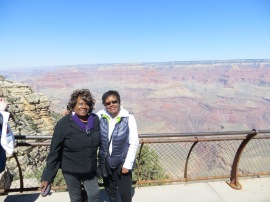 Here we are at the Grand Canyon!